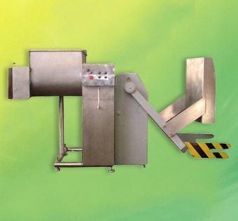 Фаршемешалка Л5-ФМ2-У-335 с механизмом загрузки